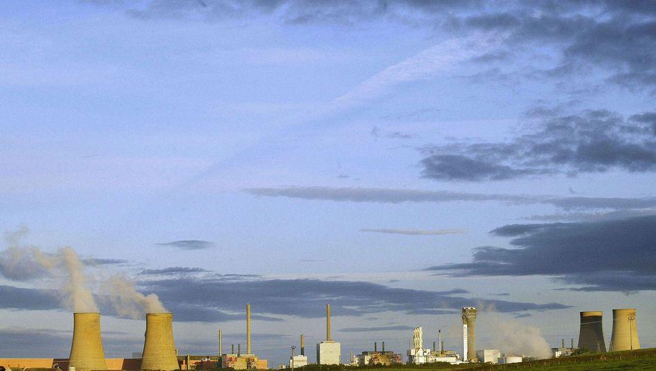 Atomkomplex Sellafield (Archivbild): Radioaktivitätswerte über den natürlich auftretenden