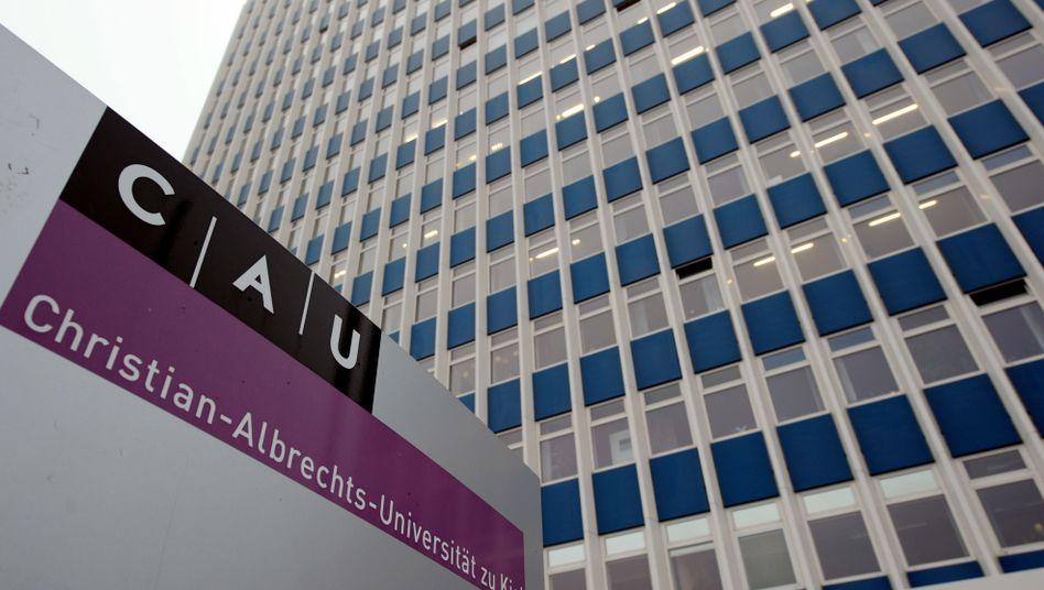 Gebäude der Christian-Albrechts-Universität (Archivbild)