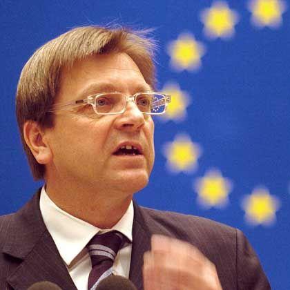 Guy Verhofstadt: Belgiens Regierungschef spricht sich für eine EU-Armee aus