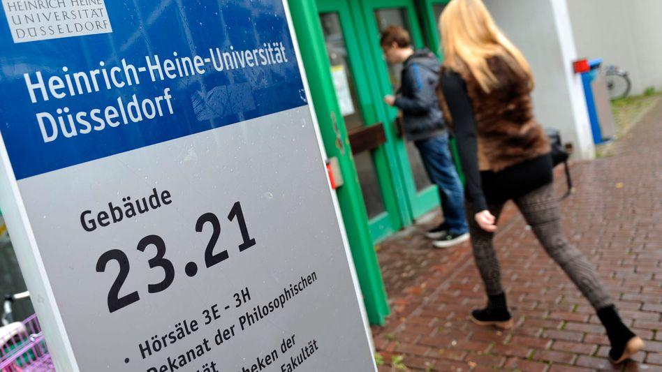 Uni Düsseldorf: Die Hochschule sieht sich zu Unrecht kritisiert