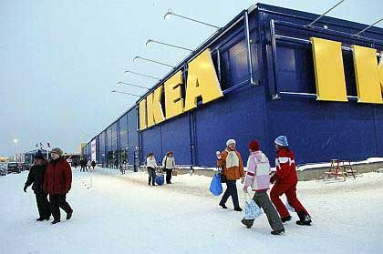 Ikea: Tipis sverige Snörrigkeit