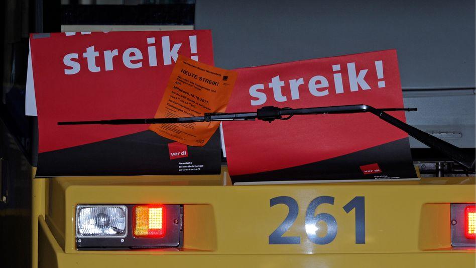 Streik: Arbeitnehmer müssen auf jeden Fall versuchen, pünktlich zu kommen