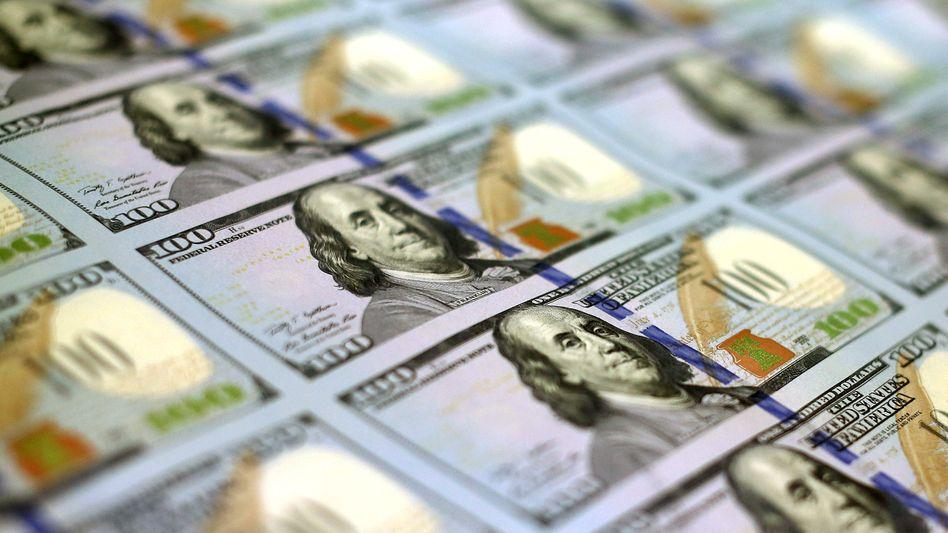 Neue 100-Dollar-Noten