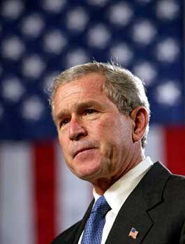 Bush: Unzufriedenheit bei den Wählern