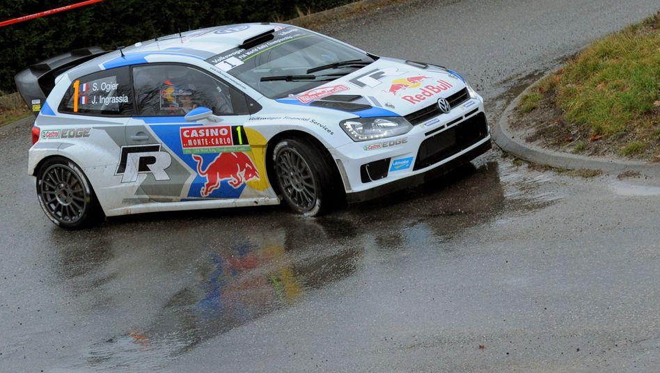 Weltmeister Ogier: Deutliche Führung bei der Rallye Monte Carlo