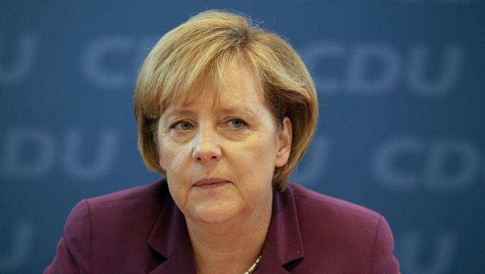 Kanzlerin Merkel: Politische Orientierungswerte der Partei verflüchtigt