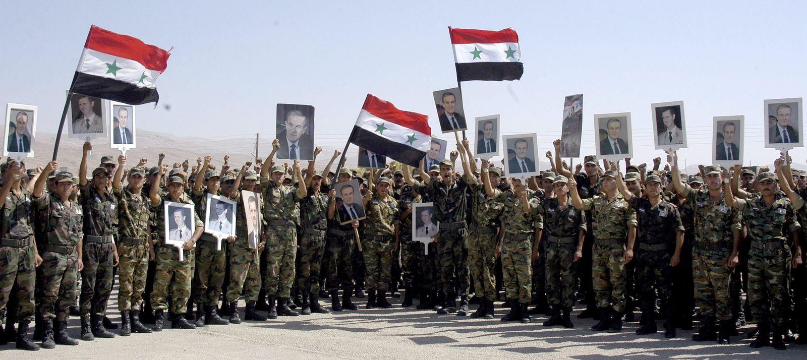 Syrien/ Regiertungstruppen