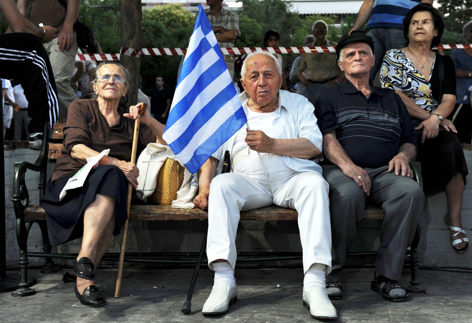 Griechenland / Finanzkrise / Rentner