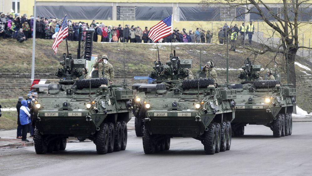 Ukraine-Konflikt: US-Parade vor russischer Grenze