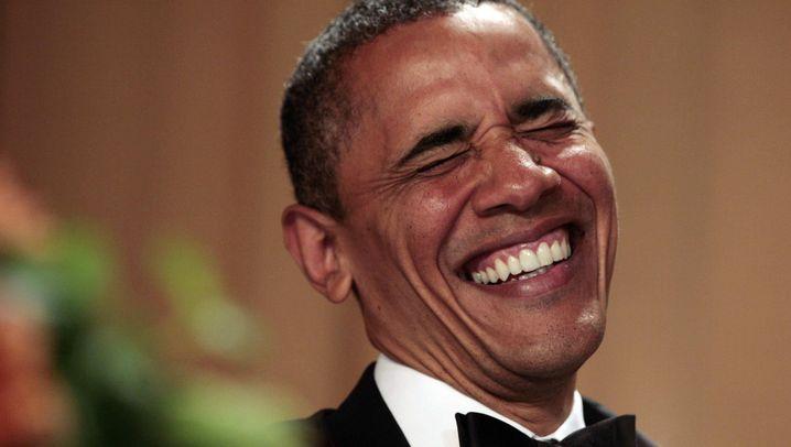 Gala in Washington: Obama witzelt über politische Gegner