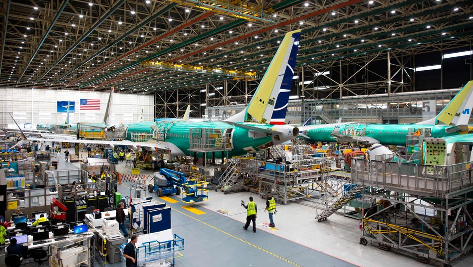 Boeing-Werk in Renton (US-Bundesstaat Washington, März 2019)