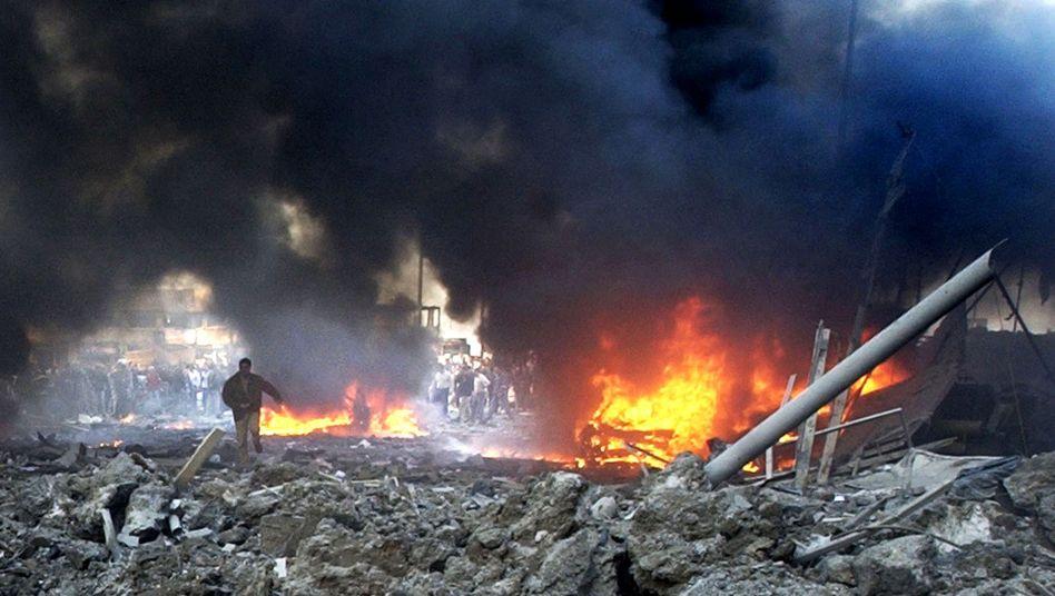Beginndes Hariri-Prozesses: Fünf Menschen sterben bei Terroranschlag im Libanon