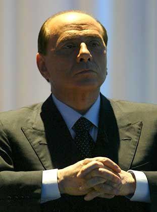 Mehr als ein Problem: Premier Berlusconi