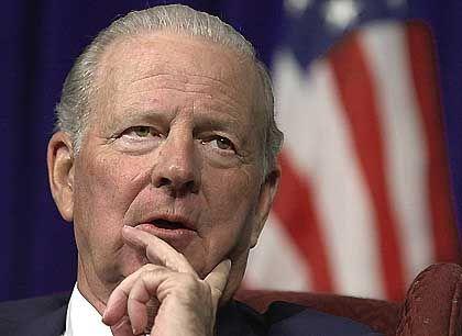 Im Club der Ex-Politiker: James Baker, unter George Bush senior Außenminister, ist Chef des Carlyle-Beirates