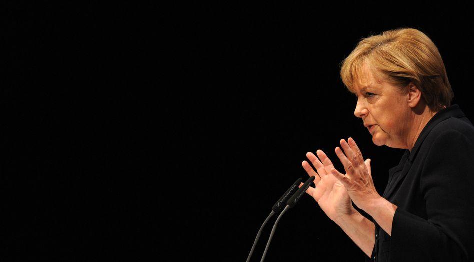 Chancellor Angela Merkel has not had a good week.