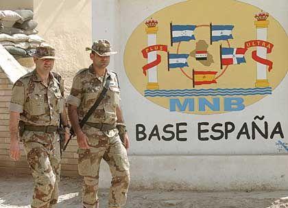 Irak: Spanische Soldaten auf Abruf