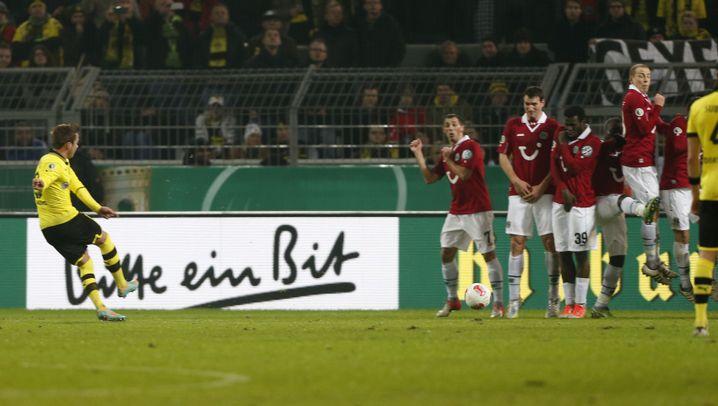 Mario Götzes Freistoß: So wie einst Ronaldinho