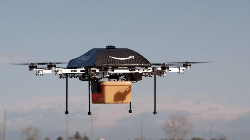 Amazon-Drohne: Soll 80 Kilometer pro Stunde fliegen