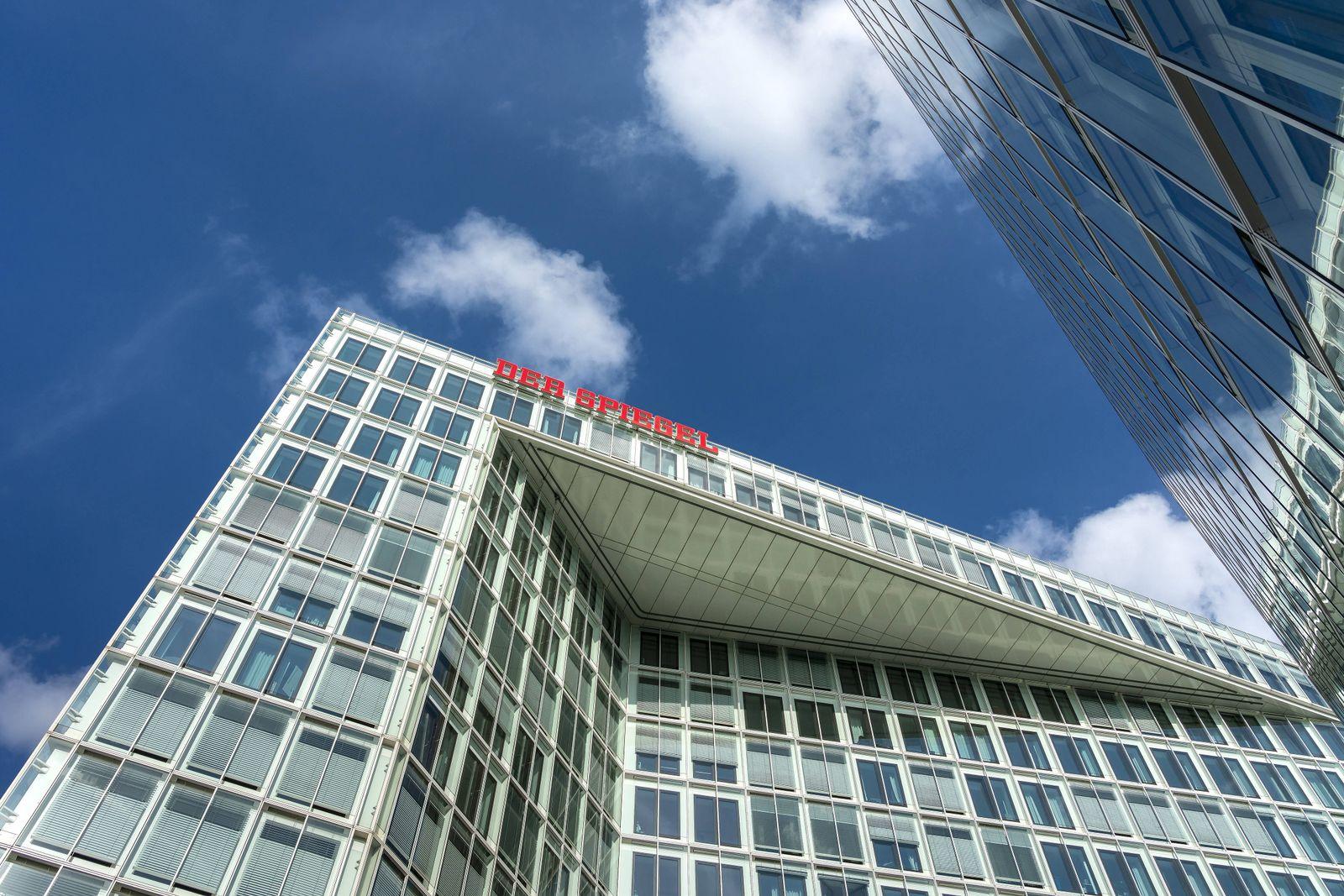 EINMALIGE VERWENDUNG Optik 02 Artikel/ SPIEGEL Gebäude Hamburg
