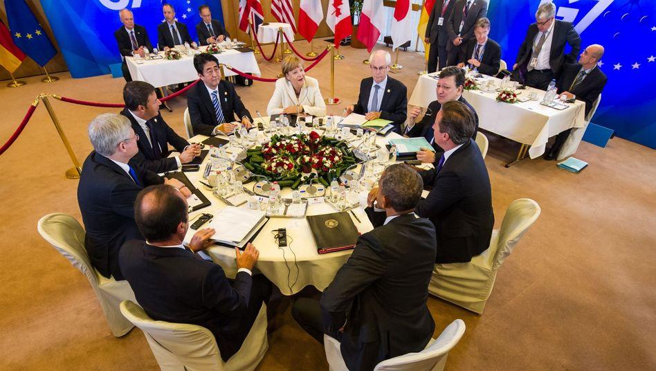 G7-Konferenz in Brüssel: Energie als Machtinstrument