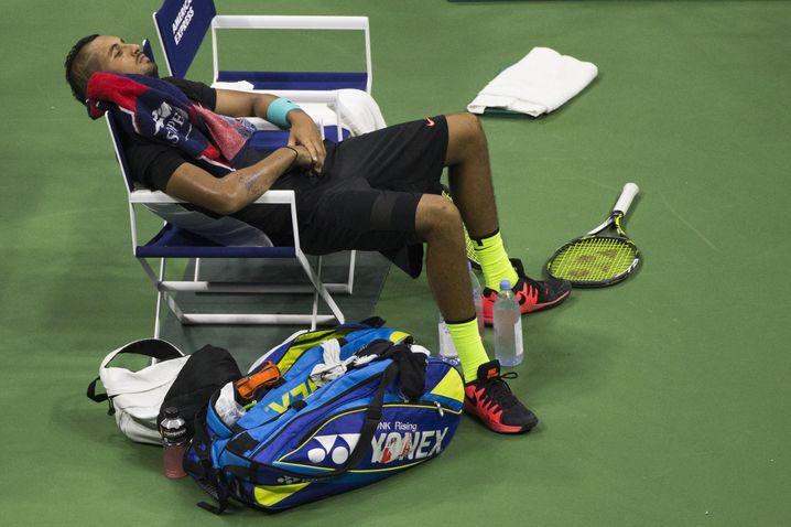 Nick Kyrgios entspricht nicht den Vorstellungen von einem klassischen Tennisspieler