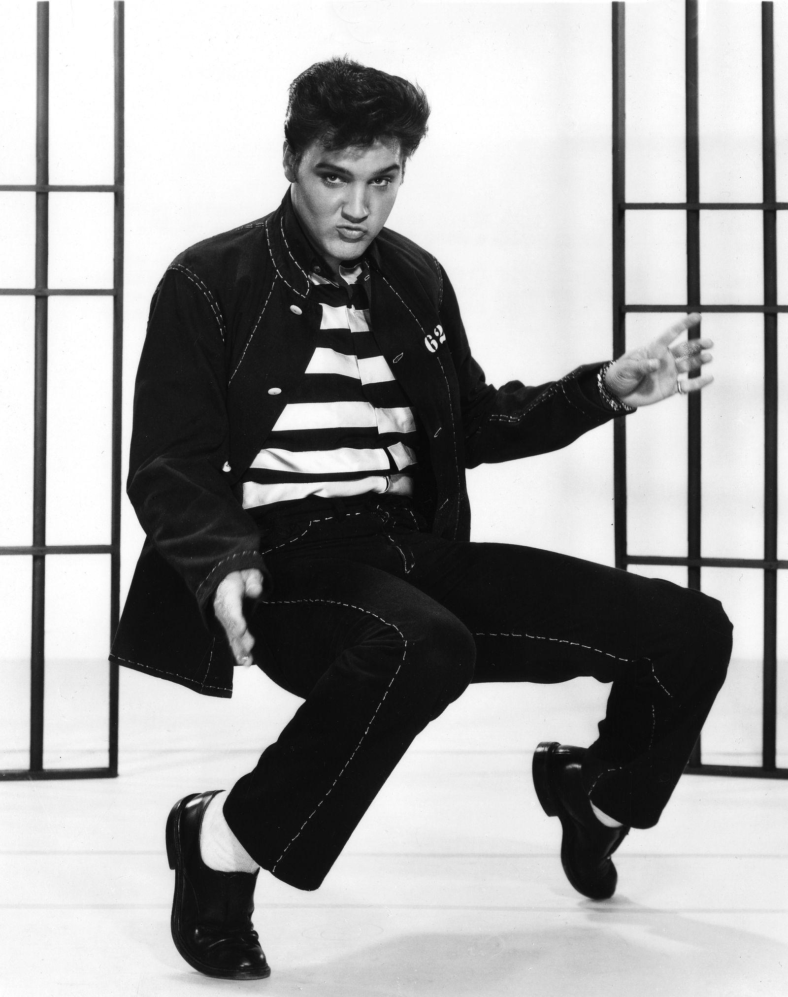 """Jailhouse Rock"" Elvis Presley 1957 MGM ** I.V."