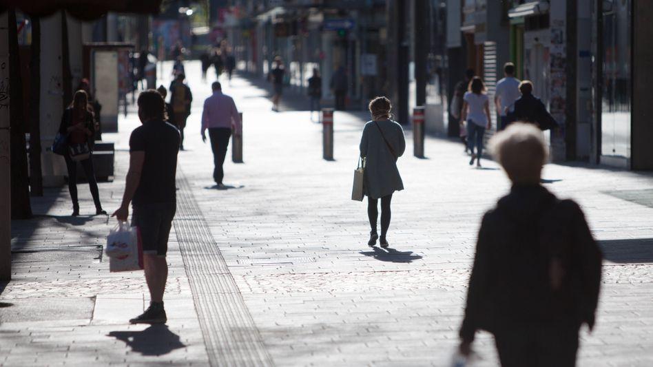 Straße in Wien: Wegen steigender Corona-Zahlen wurde für das Bundesland eine Reisewarnung ausgesprochen