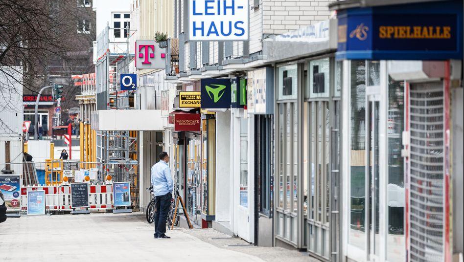 Straßenszene in Hamburg: Bis zu fünf Millionen Selbstständige