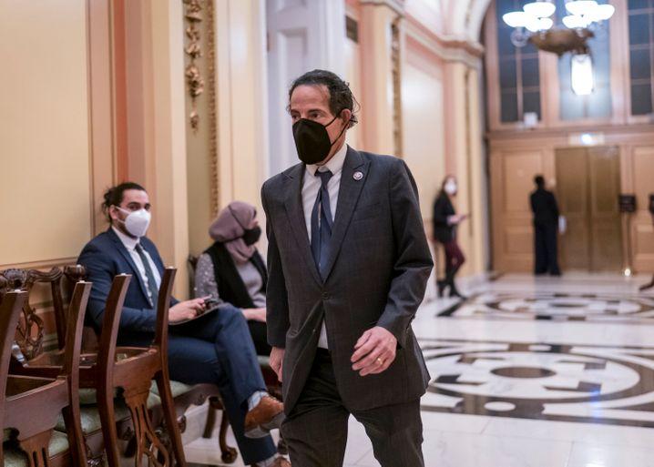 Der demokratische Kongressabgeordnete Jamie Raskin führt das Team der »impeachment managers« an