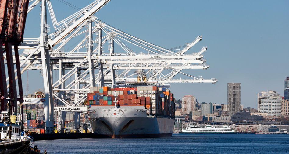 Containerhafen in den USA