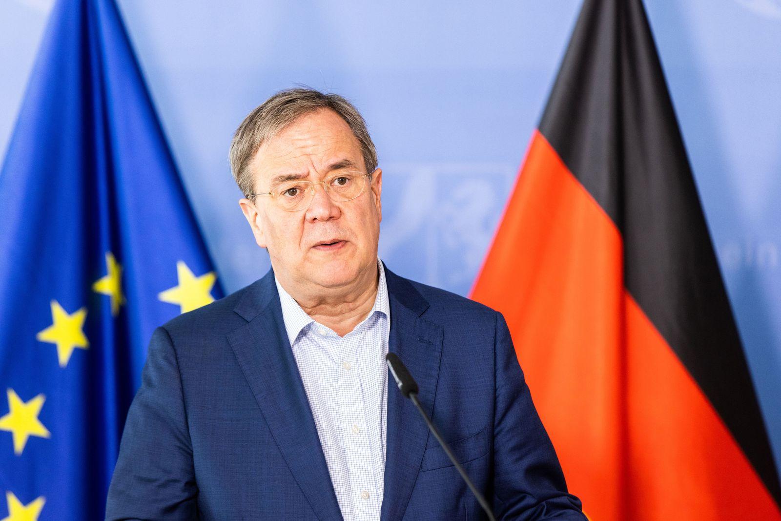Landesregierung Nordrhein-Westfalen - Unwetterkatastrophe