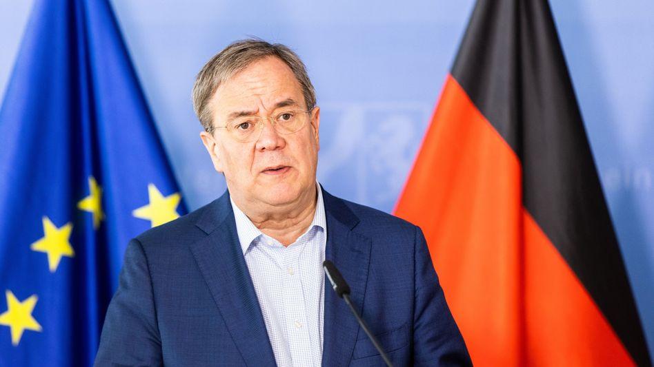 Armin Laschet, Kanzlerkandidat der Union: »Dafür möchte ich ausdrücklich um Entschuldigung bitten«