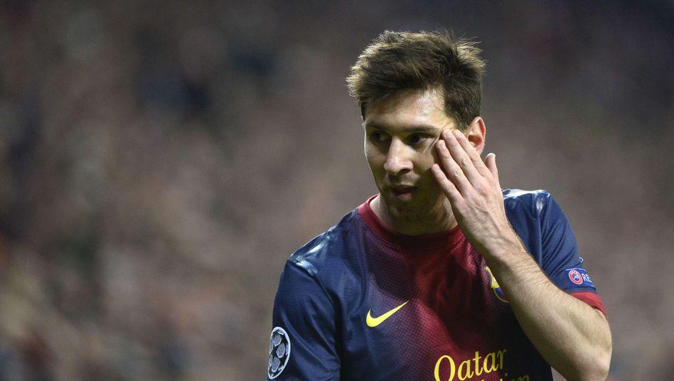 Barcelona-Star Messi: 0:4-Pleite gegen die Bayern
