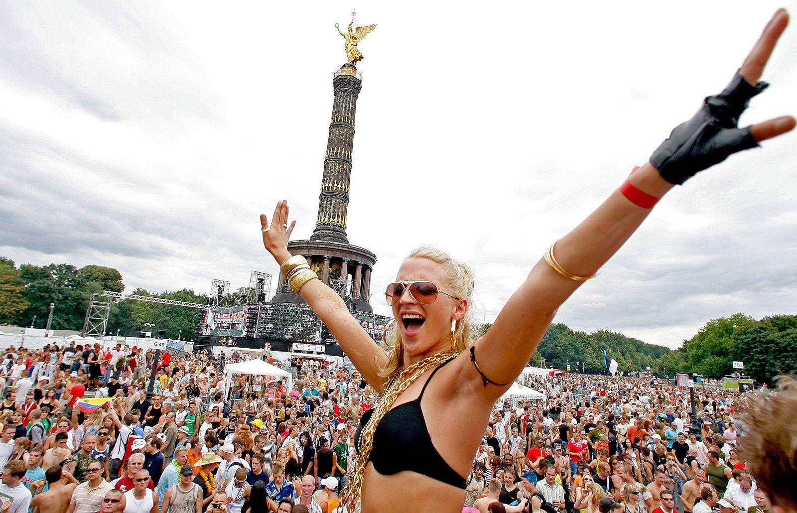 Berliner/ Love Parade 2006
