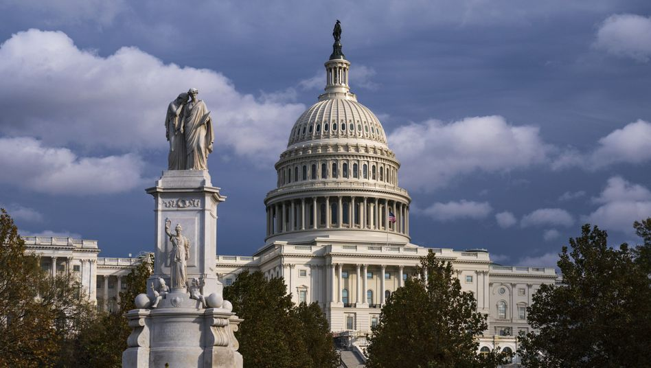 Schauplatz der Impeachment-Anhörungen: Der US-Kongress auf dem Kapitolshügel