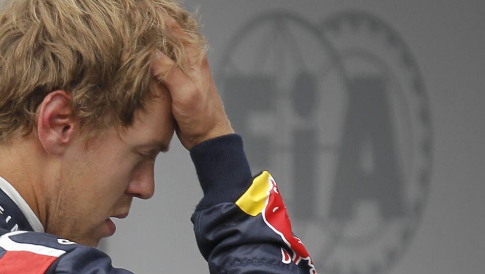 Red-Bull-Pilot Vettel: 20 Sekunden Zeitstrafe kosten wertvolle WM-Punkte