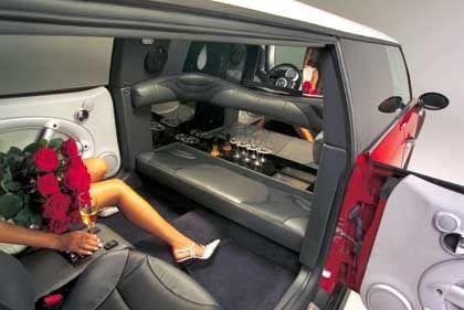 XXL-Fond: Schöner fahren auf zweieinhalb Quadratmetern