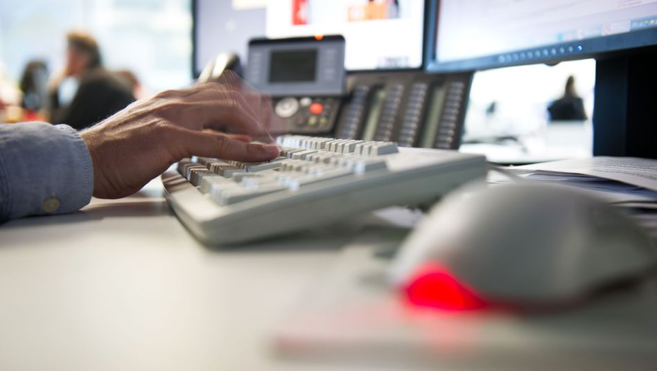 Rechnernutzung am Arbeitsplatz