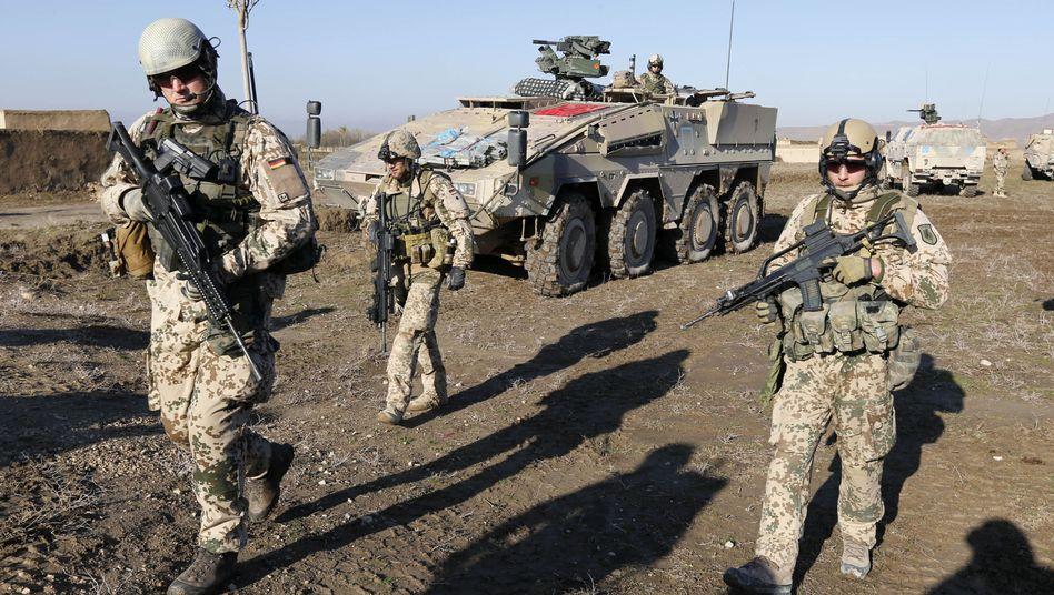 Bundeswehrsoldaten in Afghanistan (Archivbild 2012)