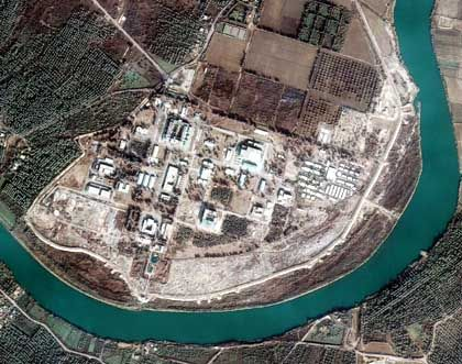Isotopentrennungsanlage im Irak (Satellitenbild, 1999): Technologie aus den USA