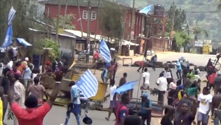 "Kamerun: ""Hoch lebe Ambazonien"""