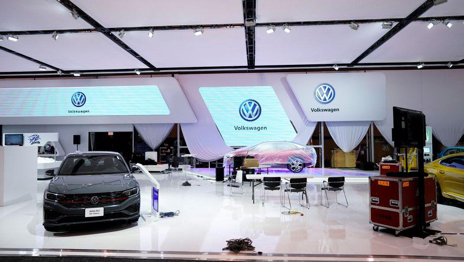 Eine Volkswagen-Autoausstellung in Toronto (Symbolfoto)