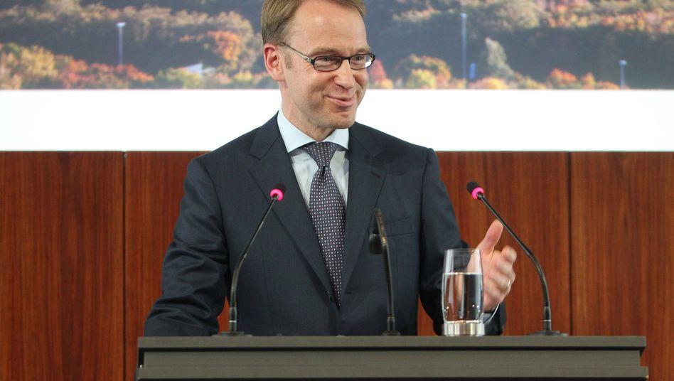 """Bundesbank-Chef Weidmann: """"Gewisser Überschwang"""" auf den Märkten"""