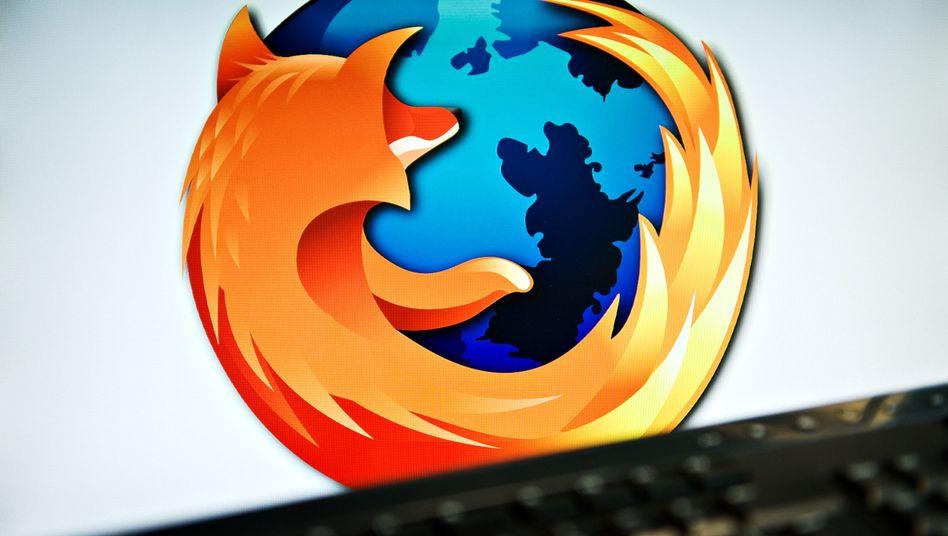 "Firefox-Logo: ""Vertraue, aber prüfe"""