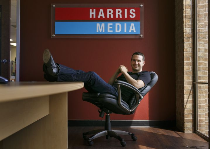 "Vincent Harris: ""the man who invented the Republican internet."""