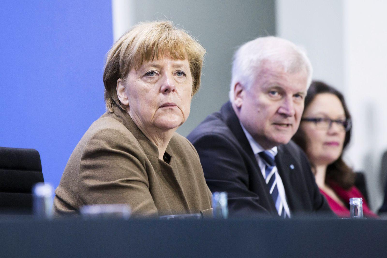 Merkel/ Seehofer/ Nahles