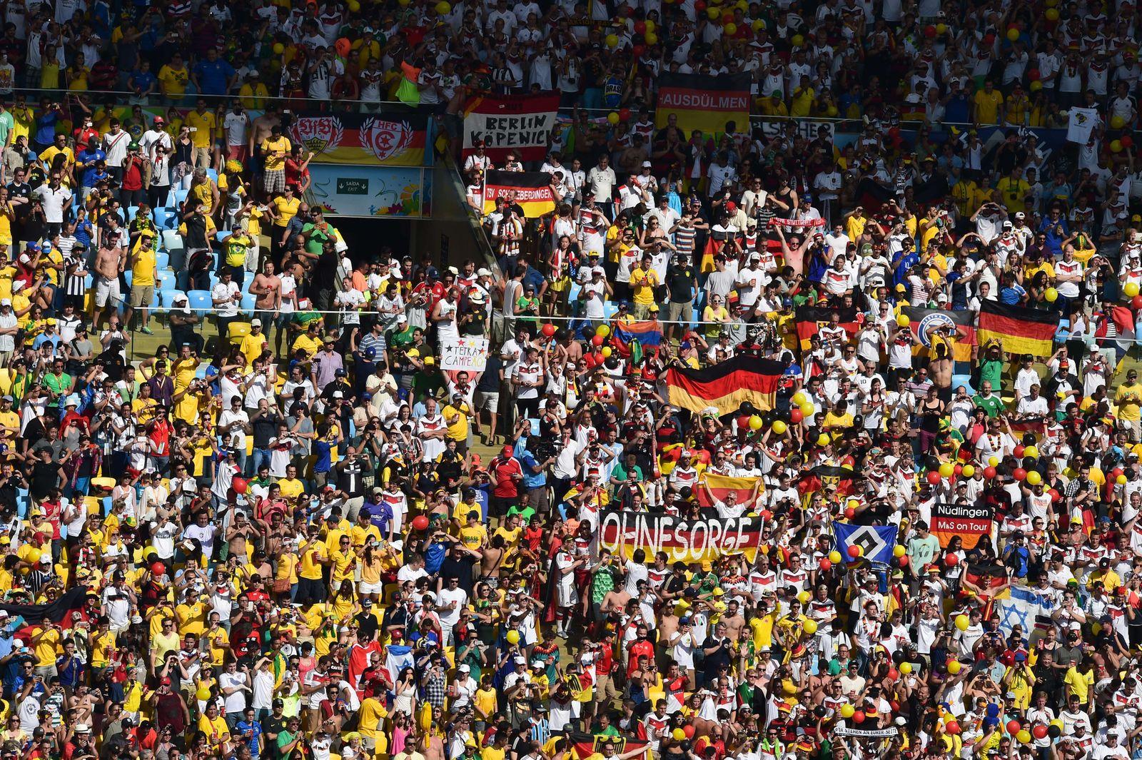 Deutschland - Frankreich/ Fans