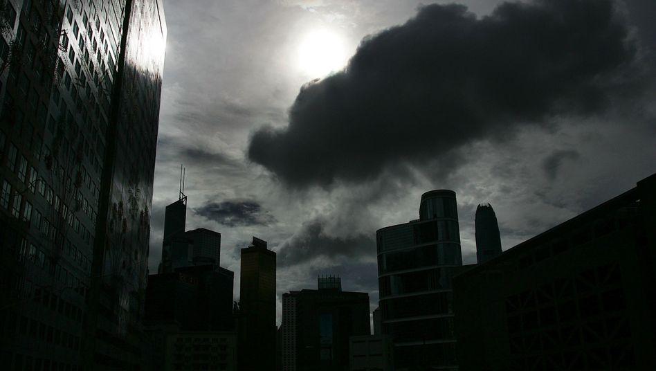Finanzviertel in Hongkong: Hier ist der Sektor fünfmal so groß wie die Wirtschaftsleistung