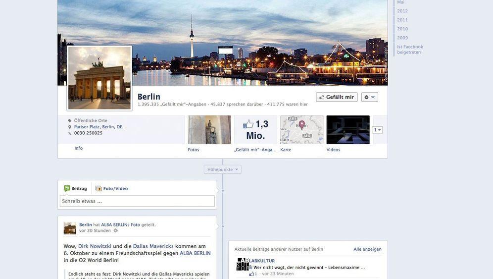 Seitentausch: Facebook übernimmt Stadtverwaltung