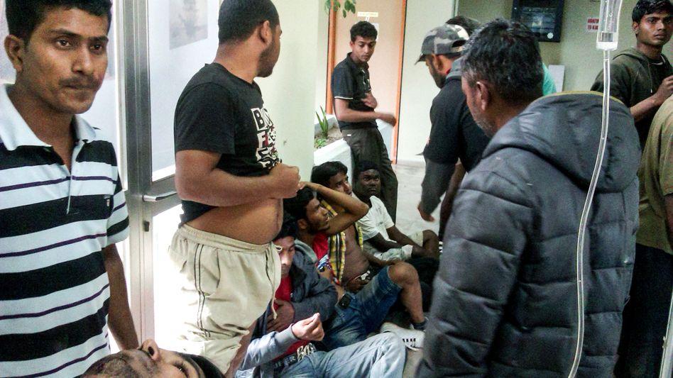 Ausländische Arbeiter in Griechenland: Angeschossen und verletzt